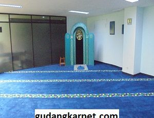 Jual Karpet Custom Mushola PT Pusri