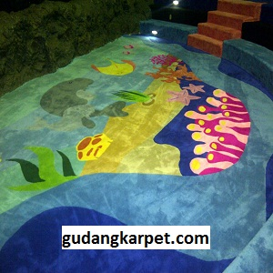 Jual Karpet Custom Sea World Ancol