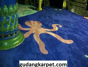 Pemasangan Karpet Custom Ballroom Sea World Ancol