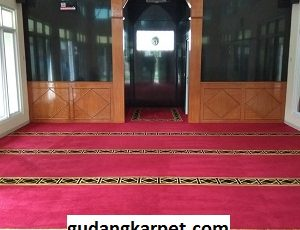 Jual Karpet Custom Musholla Al Istoqomah