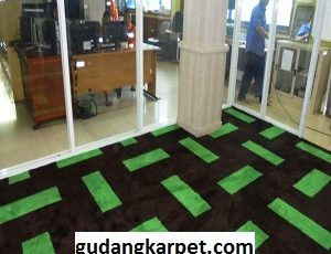 Pemasangan Karpet Kantor Custom Design Indonesia Power Cilegon